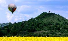 Zebín a létající balon, Jičín | Český ráj