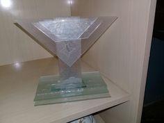 Troféu de vidro