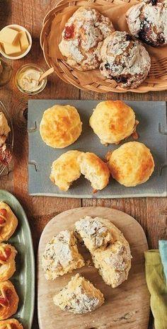 発酵なしで超簡単!ヤミーさんの「クイックおやつパン」(サンキュ!) - Yahoo!ニュース Yeast Free Breads, Camembert Cheese, Bakery, Muffin, Sweets, Cooking, Breakfast, Food, Yahoo