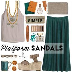 Stand Up! Platform Sandals