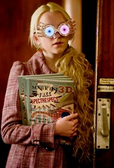 Day 4- Favorite Hogwart's Student: Luna Lovegood. I would say Ginny, but I already pinned her. Luna is one of my favorites though.