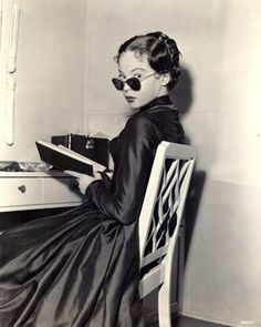 """Leslie Caron 1951 """"The Man With A Cloak"""" Photo by Virgil Apger"""