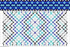 Muster # 76767, Streicher: 36 Zeilen: 18 Farben: 5