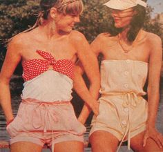 Vintage fashion. 70s.