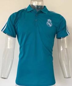 2017 Polo Jersey Real Madrid Replica Green Shirt [AFC732]