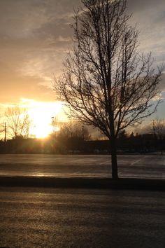 Gresham, Oregon Sunset 2/14/18