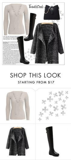 """""""Fashionable"""" by sabinakopic ❤ liked on Polyvore featuring Dot & Bo, women's clothing, women's fashion, women, female, woman, misses, juniors and twinkledeals"""