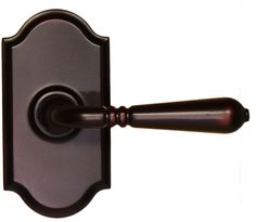 Weslock 1700Y Legacy Passage Door Lever Set with Premiere Rose from the Elegance