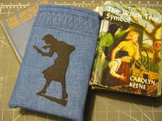 The Nancy Drew E-Reader Sleeve will keep your portable library safe and sound.