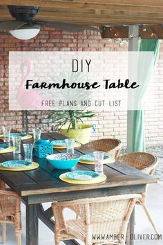 1600 wood plans - Learn how to build this DIY farmhouse table with these FREE plans and cut list. Will look great in your rustic dining room or outdoors! Woodworking Drawings - Get A Lifetime Of Project Ideas and Inspiration! Do It Yourself Furniture, Diy Furniture, Furniture Makers, Woodworking Furniture, Repurposed Furniture, Furniture Projects, Furniture Plans, Modern Furniture, Furniture Design