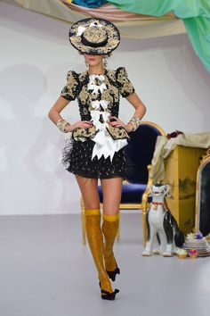 The Terrier and Lobster: Meadham Kirchhoff Spring 2013: Madame de Pompadour in Crazy Rococo Splendor