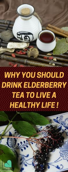 Amazing health benefits of elderberry tea. Follow this simple and easy to follow elderberry tea recipe to make one today!
