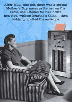 Mothers Day Retro Humour