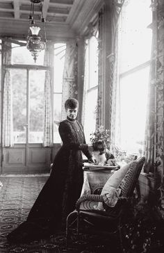Dowager Empress Maria Feodorovna of Imperial Russia, at her home in Denmark, post 1919.