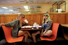 A Conversation with Lindsey Troy and Julie Edwards of Deap Vally By Madison Killian Deap Vally and Wolfmother at The Showbox, Seattle I'm sitting backstage at The Showbox in Seattle across from Pik…