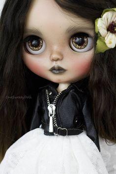 Lilith Blythe custom OOAK art doll by OneSweetyDoll with