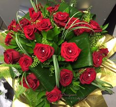 24 x Luxurious 💋 Luxury Flowers, Red Roses, Table Decorations, Floral, Plants, Gifts, Home Decor, Presents, Decoration Home