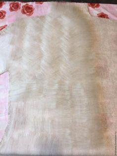 Мастер-класс: цельноваляный жакет «Апрельский снег» - Ярмарка Мастеров - ручная работа, handmade