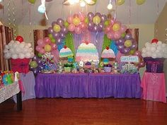 Cupcake Party party....Good news! I have the balloons...because in the past I have bought in bulk! :P