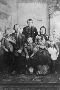 German Families | Volga German family, Ellis, Kansas - Page Ellis Island Immigrants, Volga Germans, Kansas Usa, Catherine The Great, My Family History, Old West, Historical Society, Vintage Pictures, Old Photos