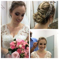 Noivas cabelo coque