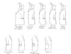 women's jacket lapel styles - Google Search