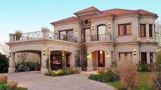 60 Most Popular Modern Dream House Exterior Design Ideas – Ideaboz - Traumhaus Dream Home Design, Modern House Design, My Dream Home, Future House, My House, House Front, Dream Mansion, Luxury Homes Dream Houses, Dream Homes