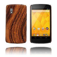 """Woody"" skal till Nexus 4 - http://lux-case.se/woody-brun-lg-google-nexus-4-skal.html"