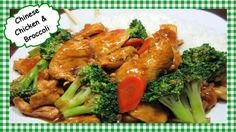 How to Make the Best Chicken and Broccoli Chinese Stir Fry Recipe ~ Healthy Chinese Cooking - The Best Chicken Recipes Broccoli And Carrot Recipe, Garlic Broccoli, Carrot Recipes, Asparagus Recipe, Broccoli Recipes, Chicken Recipes, Recipe Chicken, Carrot Soup, Broccoli Cheddar