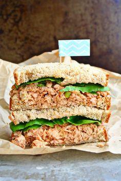 Spicy Wasabi Ginger Tuna Salad | Killing Thyme
