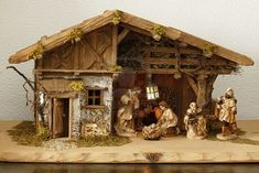 Fontanini 11 Piece Nativity Set with Italian Stable, Roman . Christmas In Europe, Old Christmas, Father Christmas, Christmas Pictures, All Things Christmas, Xmas, Christmas Nativity Scene, Diy Christmas Ornaments, Holiday Crafts