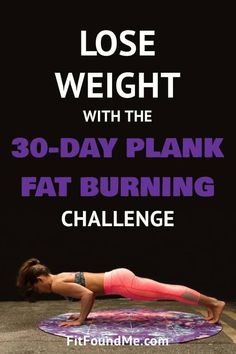 30 day plank challenge to help you build and tone muscles all over your body that helps get rid of belly fat, tone arm jiggles, lift your booty and strengthen core. Start with small and build to holding a plank longer with a printable calendar to keep you Diet Plans To Lose Weight, Weight Loss Plans, How To Lose Weight Fast, Loose Weight, Planks For Beginners, Workout For Beginners, 30 Day Plank Challenge, Plank Workout, Strength Training Workouts