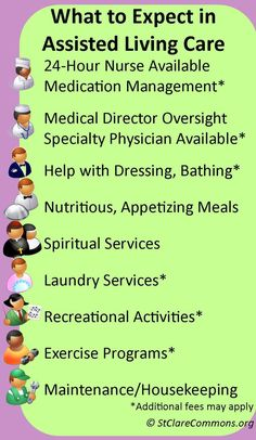 What should you expect for an Assisted Living Care situation? Service!