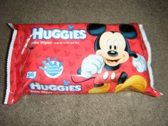 Huggies Limed Edition Baby Wipes with Disney's Mickey Mouse  #Giveaway  @SerenityYou
