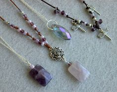 Amethyts and Crystal Buyers Choice Necklace !!. Starting at $5 on Tophatter.com!