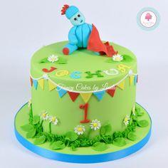 Iggle Piggle Night Garden Themed Birthday Cake 07917815712 www.facebook.com/fancycakeslinda www.fancycakesbylinda.co.uk Themed Birthday Cakes, 1st Birthday Parties, 2nd Birthday, Birthday Ideas, Garden Cakes, Night Garden, Fondant Tutorial, Occasion Cakes, Cakes For Boys