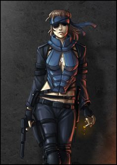 Metal gear solid wallpapers hd wallpaper cave all wallpapers fanart friday solid snake female by kougansharde voltagebd