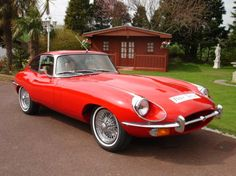 1970 Jaguar, E-type  87500.00 GBP  Jaguar E Type 4.2 1970 Fixed Head Coupe. Finished in gleaming Signal Red with Tan hide interior, headrests,sparkling chrome wire wheels, with new white band tyres, spare wheel unused, stereo system, well known car in the Jaguar world, this E Type is in impeccable condition, totally rebuilt every nut and bolt by a well known club member, only covered 2,000 miles since restorat ..  http://www.collectioncar.com/detailed.php?ad=62079&category_id=1