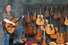 Stan Werbin, co-founder and owner of Elderly Instruments.
