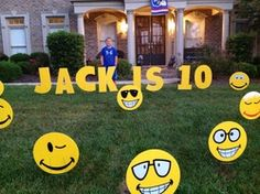 Jack's 10th Birthday Party!