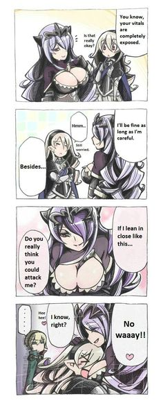 Camilla's boobs are the ultimate weapon