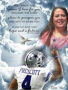 ❤️❤️❤️❤️He's definitely making his momma proud in Heaven! He has such an incredibly inspiring story. Dallas Cowboys Quotes, Dallas Cowboys Wallpaper, Dallas Cowboys Decor, Cowboys Sign, Dallas Cowboys Pictures, Dallas Cowboys Football, Football Memes, Football Season, Dak Prescott Cowboys
