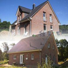 """Schnappschuss von einem """"Flair 134"""" in Lübeck Blankensee! Mehr Infos zu diesem #Massivhaus-Typ auf: http://www.hausausstellung.de/haus-bauen.html"""