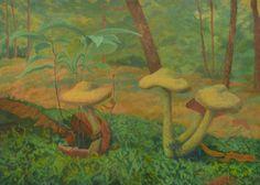 A Company Of Mushrooms by AldemButcher on deviantART
