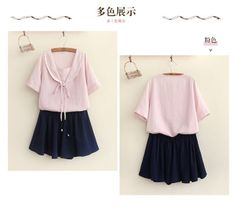 Japanese-Sweet-Mori-Girl-Doll-Collar-Loose-Preppy-Style-Embroidery-Blouse-Tops