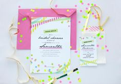 My Washi Tape: Party    NEON
