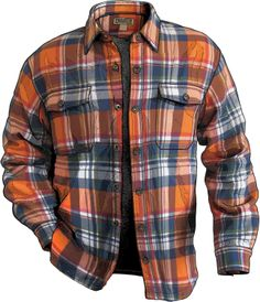 Deluth Trading Co. Flannel jacket in Green - its more than just a flannel