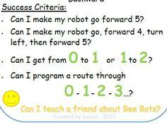 worksheets bee bots worksheets teaching math digital literacy. Black Bedroom Furniture Sets. Home Design Ideas