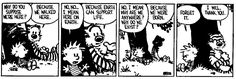 my personal best of Calvin and Hobbes
