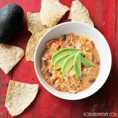 {Slow-Cooker Chicken Chili} - for those fall nights when you need something quick, easy, and hearty.